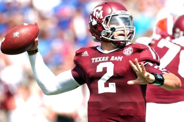 Johnny Manziel: Texas A&M QB Wants to Be Compared to Brett Favre