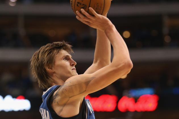 Andrei Kirilenko out with Back Spasms; Kevin Love Questionable with Illness