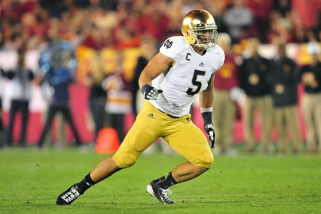 Manti Te'o Named One of Four Lott Finalists