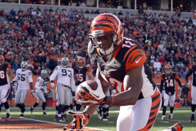 Bengals' Mohamed Sanu Needs Surgery, Could Be out for Season
