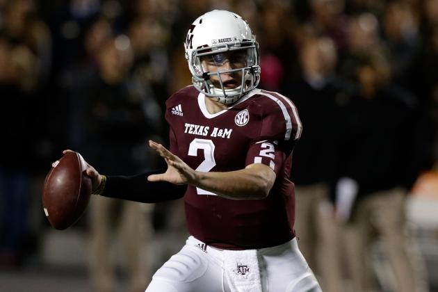 Heisman Race 2012: Trophy Is Shockingly Johnny Manziel's to Lose