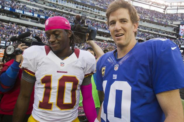 NFC East: Stats That Matter for All Four Teams Headed into Week 13
