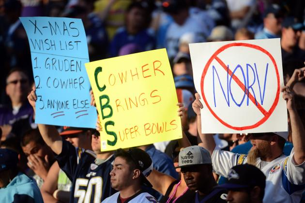 Chargers-Bengals Doesn't Sell Out, Meaning Blackout
