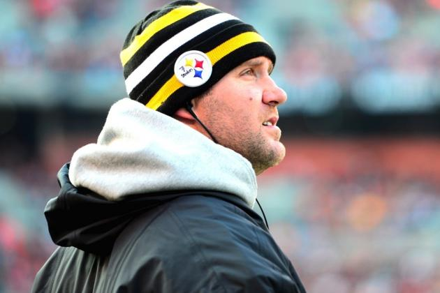 Ben Roethlisberger Out With Rib Injury for Steelers' Week 13 Clash