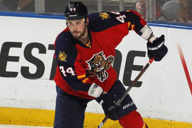Gudbranson Suspended by Panthers for Wakeboarding Accident in September