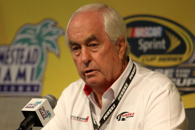 Penske Prepares for First Big Night in Long Career
