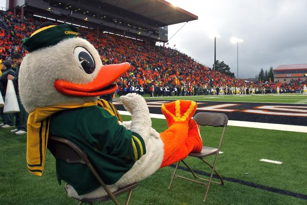 VIDEO: Fan Watching Oregon-Oregon State Blows .50 BAC on DUI