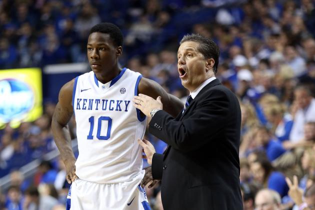 Kentucky Has a Ways to Go at Point Guard
