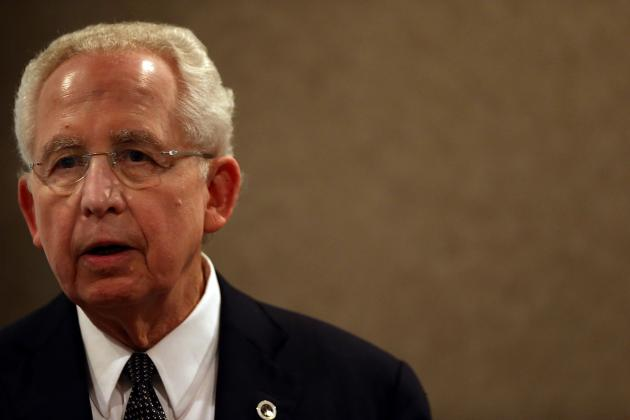 SEC Commissioner Mike Slive: 'Very Supportive' of Atlanta as Playoff Site