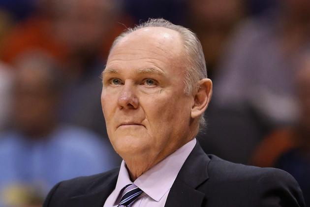 Nuggets Coach George Karl Sticks Up for Spurs Popovich
