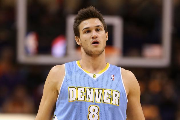 Danillo Gallinari Hopes to Improve Shooting for Denver Nuggets