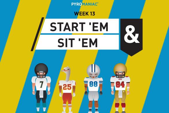 Fantasy Football 2012: Start 'Em, Sit 'Em for Week 13