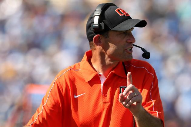 Q&A: Oregon State's Mike Riley