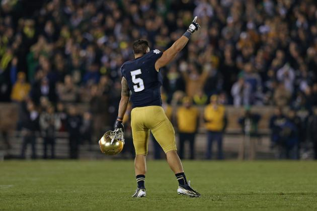 Notre Dame Football: Manti Te'o Deserves Heisman Trophy