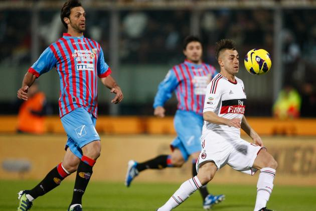 Stephen El Shaarawy and AC Milan Too Much for Catania