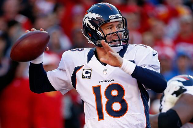 Peyton Manning: Breaking Down Broncos QB's Value in Fantasy Football Playoffs