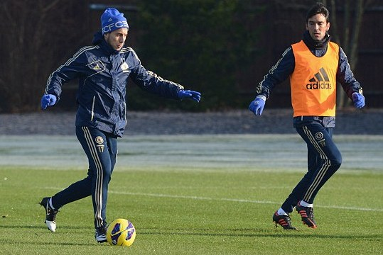 Hazard ,Diaby Join Protest Against Israel Hosting U21 Euros