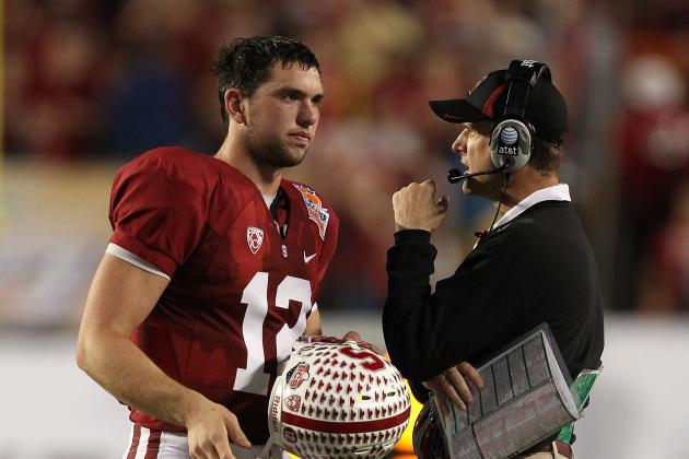 Jim Harbaugh:  His Previous QB Controversy at Stanford