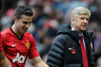 DT Exclusive: Robin Van Persie and Arsene Wenger's Texts to Each Other