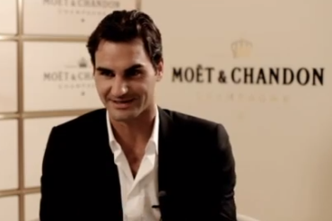 Roger Federer's Moet Chandon Deal (Video)