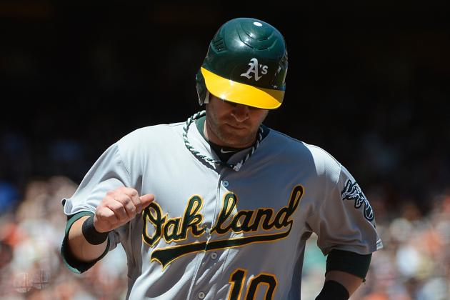 Daric Barton, Athletics Avoid Arbitration with One-Year Deal