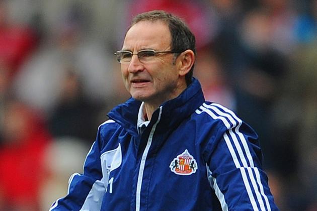 O'Neill Shoulders Sunderland Responsibility