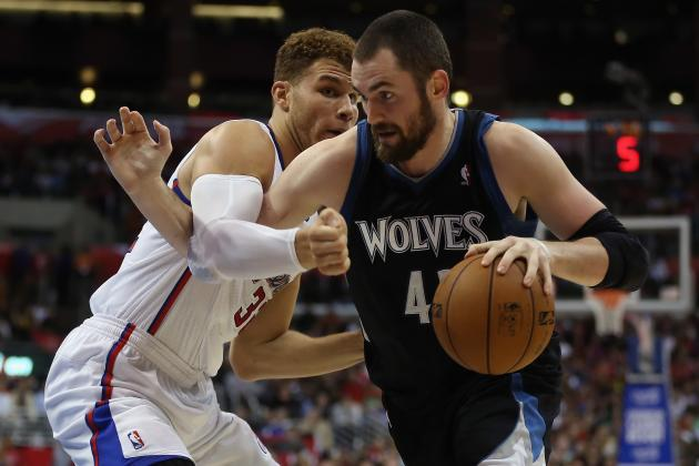 Timberwolves' Andrei Kirilenko Will Not Play Tonight, Kevin Love Will