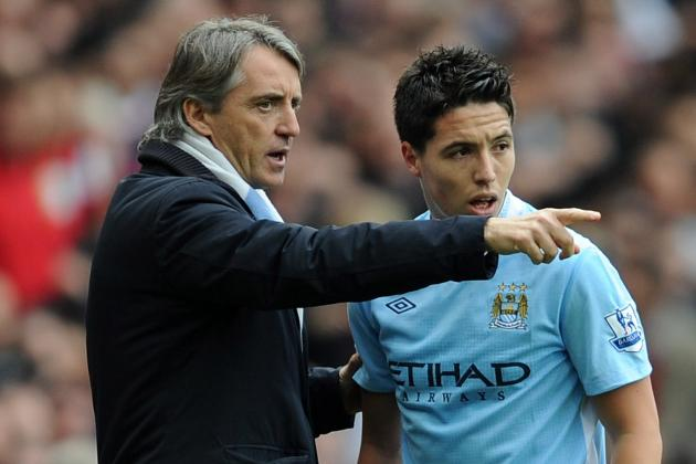 Samir Nasri Can Still Improve for Manchester City, Says Roberto Mancini