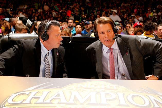 Why WWE's Announcers Are the Hardest Working in the Business