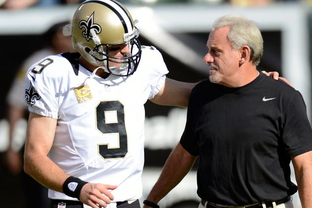 Joe Vitt Backs Drew Brees After New Orleans Saints' Loss