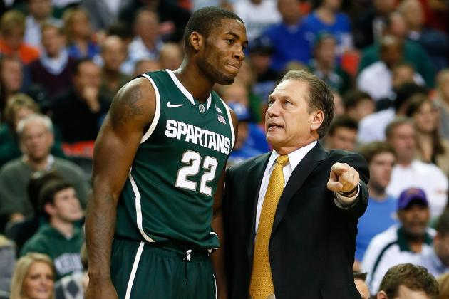 Michigan State Basketball Coach Tom Izzo Preparing to