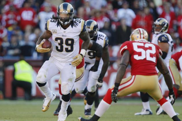 San Francisco 49ers vs. St. Louis Rams: 49ers' Week 13 Must-Win Matchups