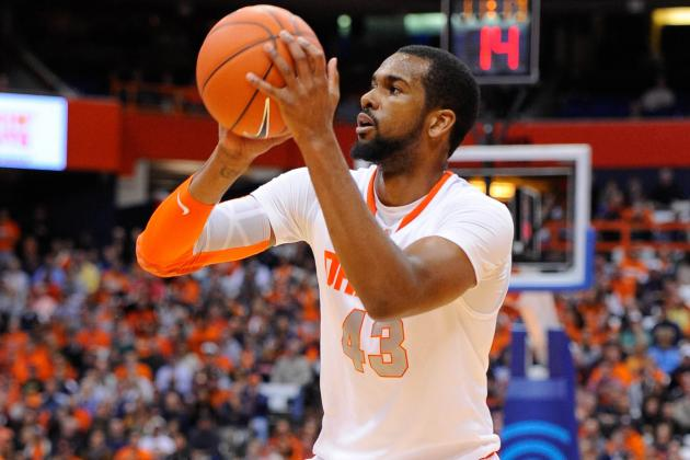 Southerland Red-Hot as No. 6 Cuse Drops Arkansas