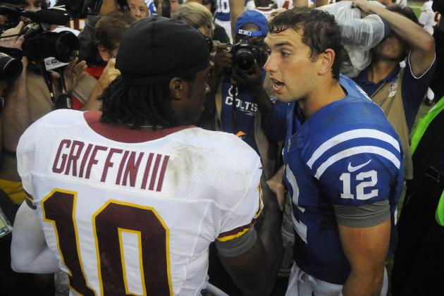 Andrew Luck vs. RG3: Predicting Rookie of the Year Winner According to Schedules