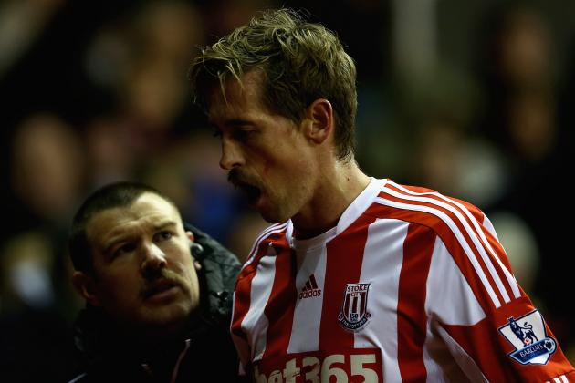 Twitter / physioroom: #Stoke Team vs #WBA : Begovic; ...