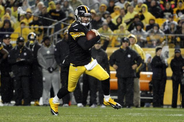 Ben Roethlisberger: Top Week 13 Waiver-Wire Replacements for Injured Steelers QB