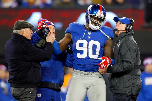 JPP Questionable, Phillips Doubtful for Redskins