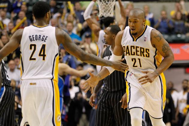 Indiana Pacers: West and George Carrying Load Without Granger