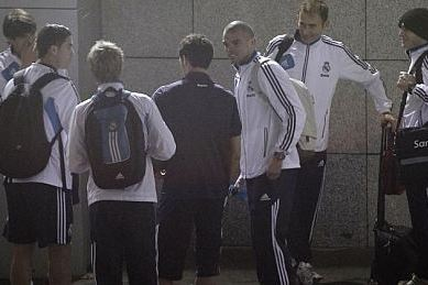 Cristiano, Arbeloa, Pepe, Coentrao and Kaka Miss the Bus