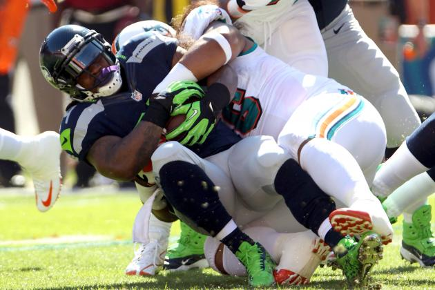 Fantasy Football Week 13 Projections: Marshawn Lynch and Busts in the Making