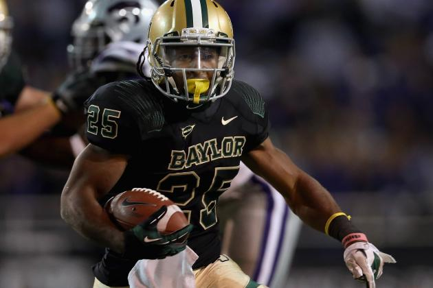 Lache Seastrunk Puts Team on His Back, Scores 76-Yard TD Run