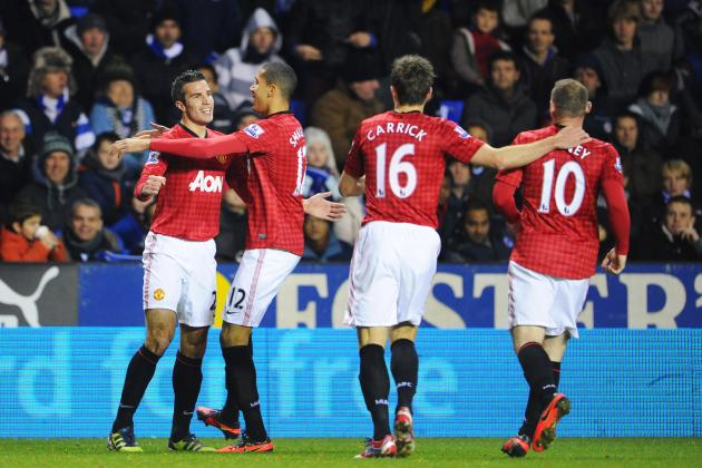 Manchester United Defeats Reading 4-3: How Sir Alex Ferguson's Men Rated