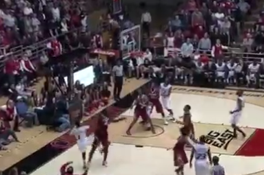 Cashmere Wright Buzzer Beater over Alabama