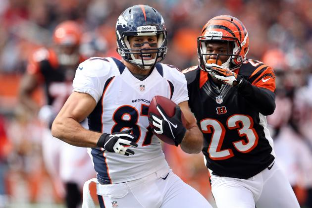 Fantasy Football Week 13 Rankings: Eric Decker and WRs Set for Huge Games
