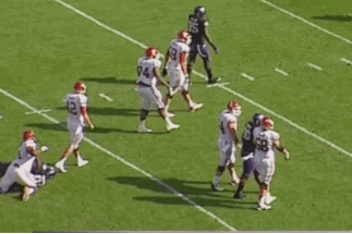 Oklahoma vs. TCU: Punch Thrown in Big 12 Battle