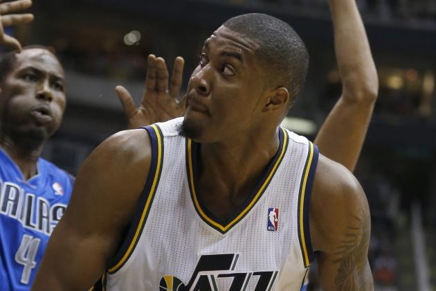 Derrick Favors out Tonight vs. Rockets, MRI Coming Sunday