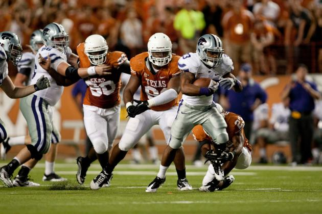Texas Longhorns vs. Kansas State Wildcats: Live Score, Highlights and Analysis