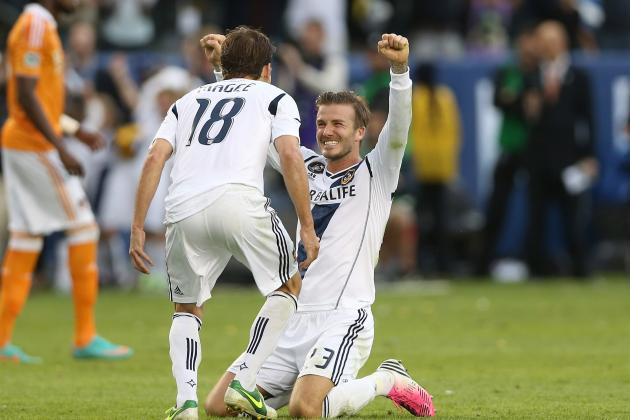 David Beckham Goes out on Top as LA Galaxy Fight Back to Win MLS Cup