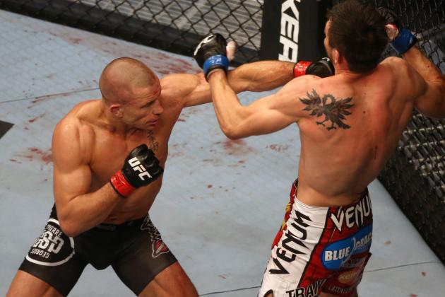 Report: Georges St-Pierre Wants $50 Million to Fight Anderson Silva