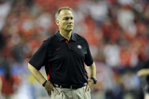 SEC Championship 2012: Mark Richt's Poor Clock Management Costs Georgia